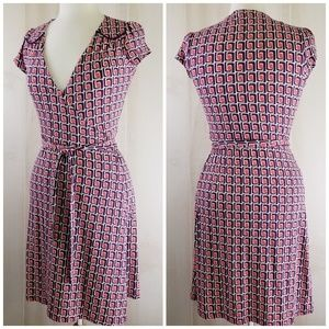 6060db27a260 Boden Dresses - Boden Jersey Wrap Cap Sleeve Dress
